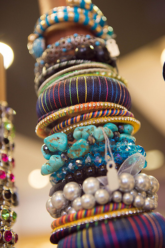 Outrageous accessories at Rosey's!